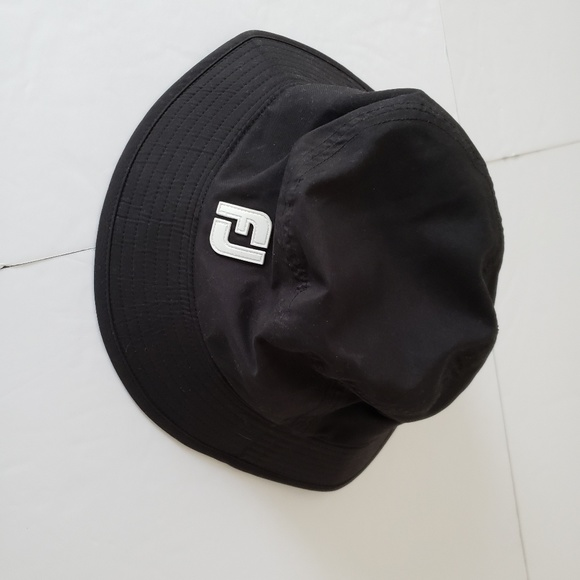 38a9c9024ec Foot Joy Dry Joy s Mens Black Bucket Hat M. M 5c8d6f252beb79f0d6b73836